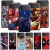 Smartphone Case For Samsung Galaxy Z Flip3 5G Z Flip 3 z flip ZF 5G Cover PC Capa Hard Funda Coque Marvel Deadpool Spiderman