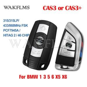 Image 1 - 3 Buttons Remote Key 433MHz 315MHz 315LP MHz 868MHZ for BMW 1 3 5 6 Series X1 X6 Z4 E60 E70 E71 E91 E92 2004 2015 CAS3 CAS3+