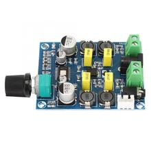 Digital Amplifier Board Adjustable Volume Dual Channel TPA3116 50W+50W DC12V-24V Volume Amplifier Module tpa3116 2 100w digital power amplifier board dual channel digital audio amplifier board module super bass ampl