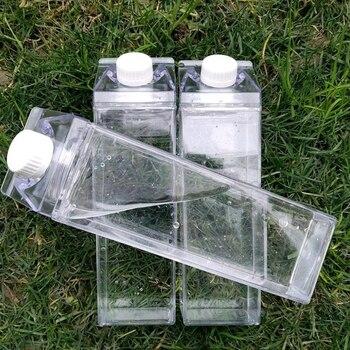 Kitchen Leakproof Creative Transparent Milk Water Bottle Drinkware Outdoor Climbing Tour Camping Children Men Bottles - discount item  30% OFF Feeding