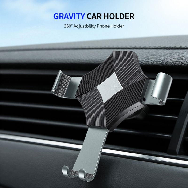Gravity Car Phone Holder For Phone In Car Mount Stand Mobile Phone Car Holder For Phone Support Smartphone