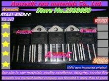 Aoweziic 2019 + 100% neue importiert original BTA41 600B BTA41 600BRG BTA41600B TOP 3 drei terminal triac 600V 40A