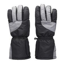 1 Pair Electric Heated Ski Gloves USB Charging Waterproof Warmer Thermal Winter Skiing Snowboard Motorcycle Cycling Gloves