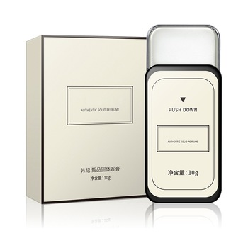 Perfume Women Masculinos Solid Perfume Femme Men Balm Iron Box Carry Fragrance Alcohol-free Aroma Deodorant Scented Fragrance