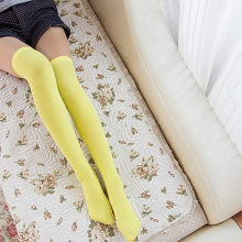 Stockings Women Brand New Women Summer Cable Knit Over Knee Long Boot High Fashion Stockings Thin Slim Stocking Candy Style(China)