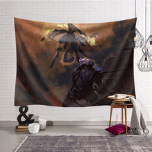 Comic Fate/stay night Wall Hanging Art Polyester Tapestry Carpet Blanket Bedroom Decor for Kids Gift Large Tables wall 200X150cm(China)