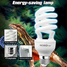 Reptile Succulent Plant Calcium Sun Lamp With 26W UVB Energy-Saving Tortoise Liard Habitat Lighting For Turtle Snake Lguanas