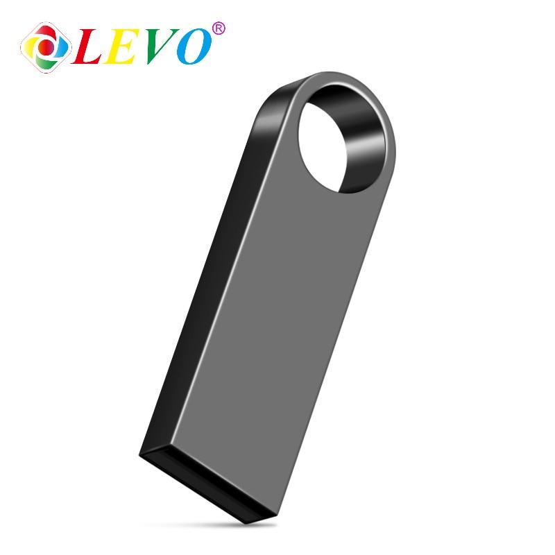 Sliver Golden Metalen Pen Drive 64Gb Usb Flash Drive 8Gb 16Gb 32Gb 128Gb Memory Stick flash Card U Disk 256Gb Pendrive 2