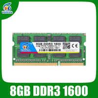 VEINEDA DDR3 8GB Ram Sodimm ddr 3 4gb 1600 de 1333 para Intel AMD portátil Ram de memoria