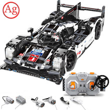lepinblocks Compatible Legoed Technic Super Racing Car RC Remote Control Building Block Speed Champions F1 SportCar Brick Toy(China)