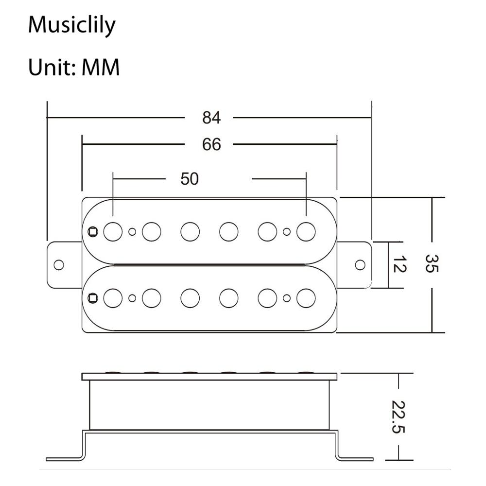 Musiclily Humbucker Wiring Diagram from ae01.alicdn.com