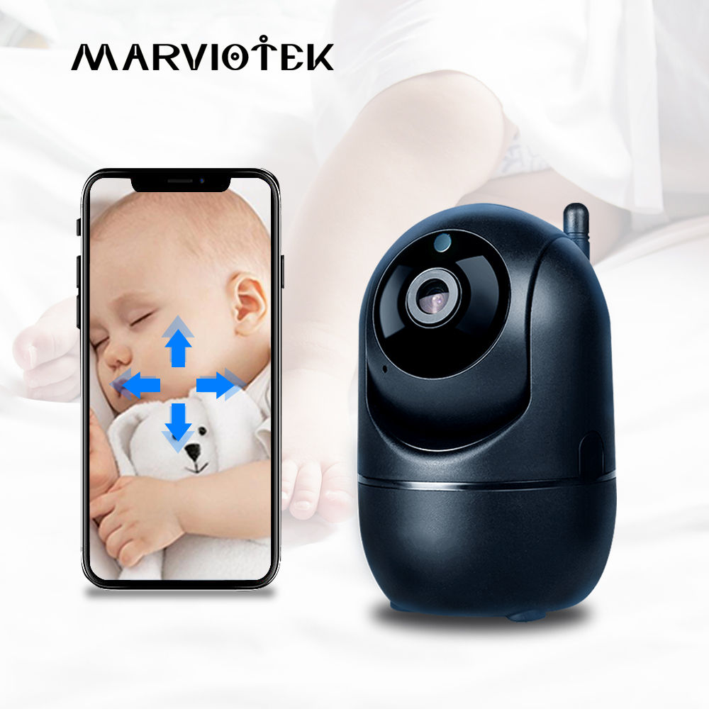 Baby Monitor Auto Tracking IP Camera WiFi Home Security IP Camera Night Vision Wireless Surveillance Mini CCTV Camera 1080P HD