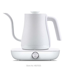 Stainless Steel coffee tea pot kettle Variable frequency constant temperature electric 0.6l mini Gooseneck long nozzle teapot