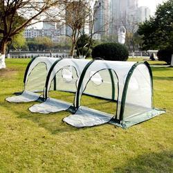 Mini Serra Casetta da Giardino Giardino Serra All'aperto Isolamento a Casa Piantare Serra Serra 3 Dimensioni