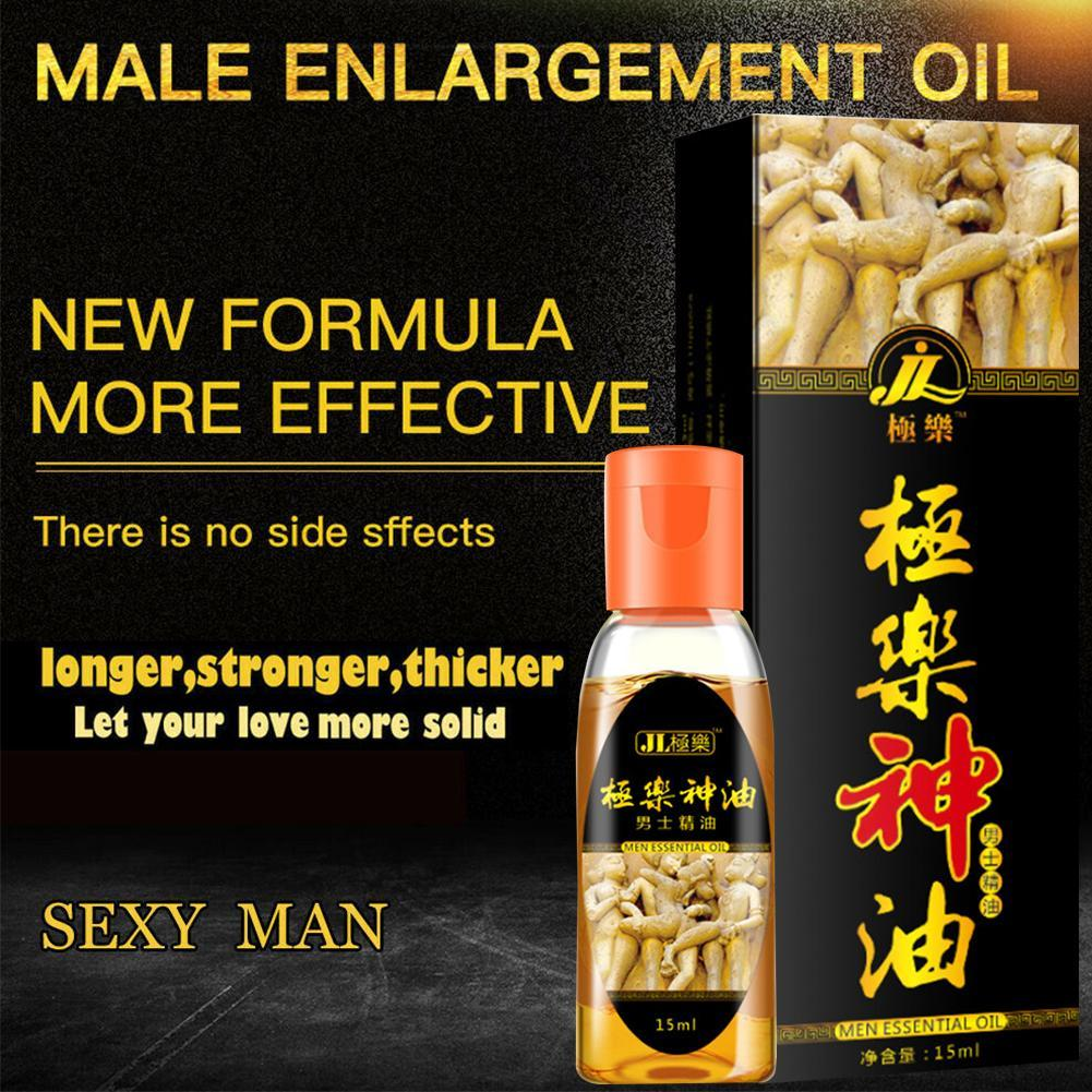 New 2021 15ml Thickening Growth Men Dick Enlargement Liquid Oil Man Essential Massage Cock Enlarge Health Care