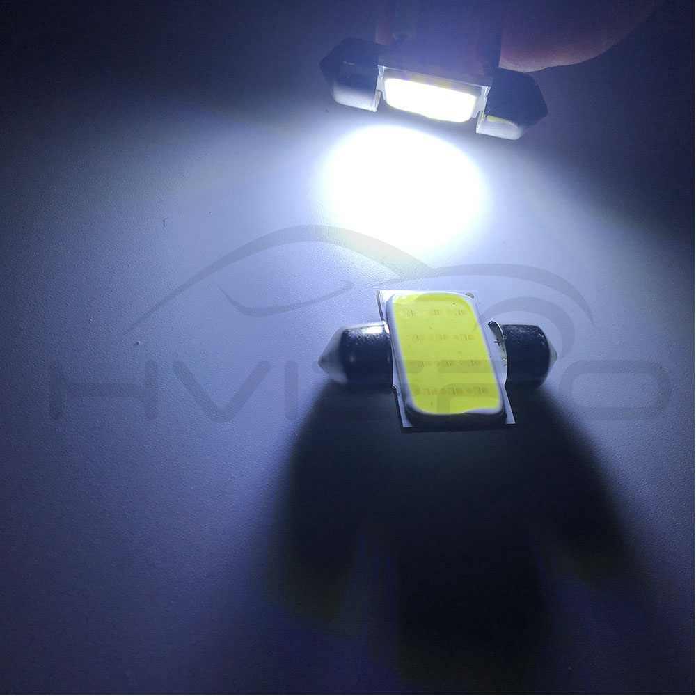 Putih Tongkol 12Led Memperhiasi Dome Lampu Membaca Lampu 31Mm 36Mm 39Mm 42Mm C5W C10W Auto Led pintu Lampu Bohlam Cadangan Ekor Lampu DC 12V