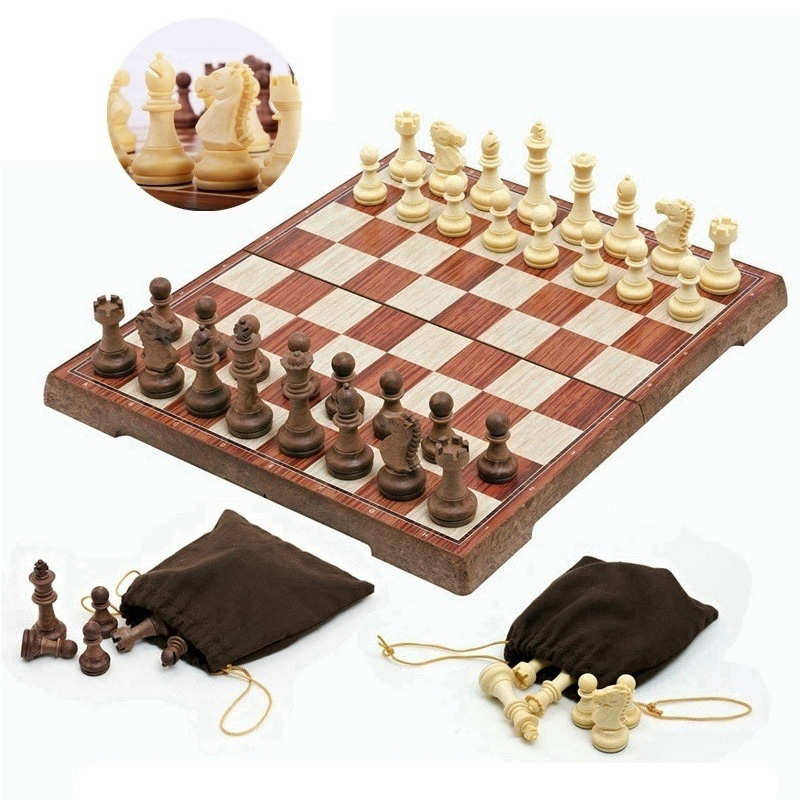 Placa de grampo magnético Jogo de Xadrez