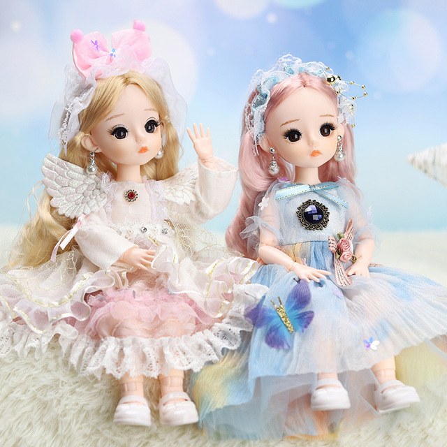 12 Inches Princess 30cm Joints BJD Suit Series Doll Toys for Girls Children Birthday Christmas Gifts 1