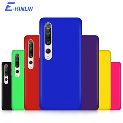 Matte PC Hard Back Cover For Xiaomi Mi Note 11 10T 10 A3 A2 A1 6X 9 9T 8 SE Lite Pro 5G Pocophone F1 Poco F2 Thin Phone Case