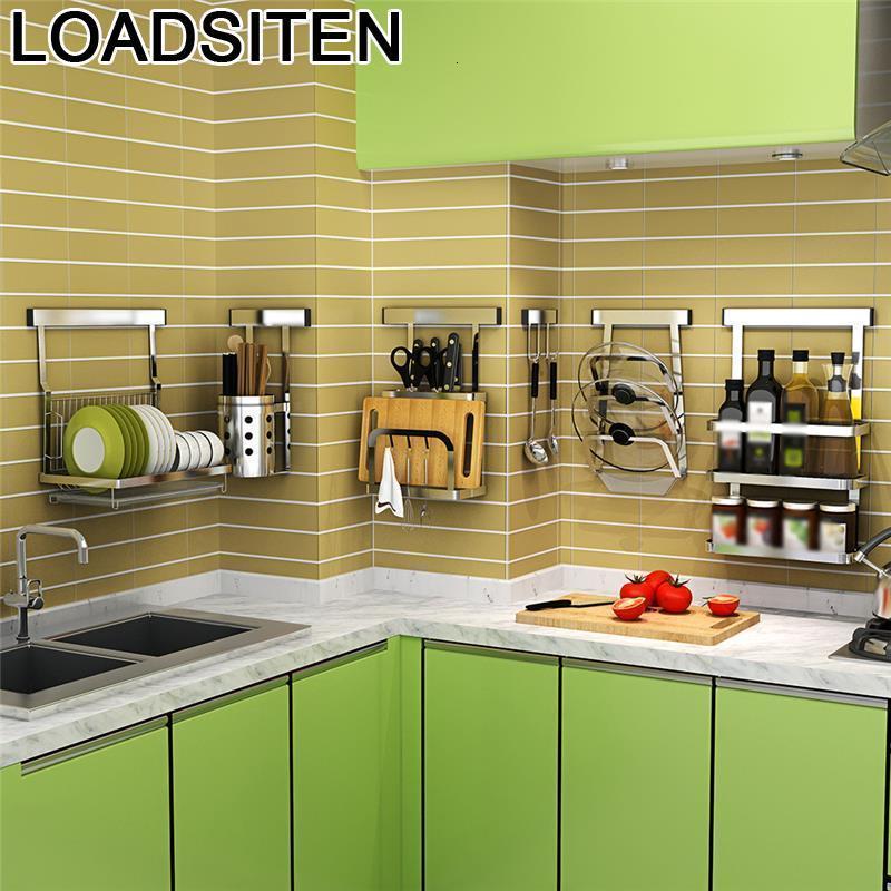 Sponge Holder Accessories Rangement Cuisine Keuken Nevera Stainless Steel Cocina Organizador Mutfak Cozinha Kitchen Organizer