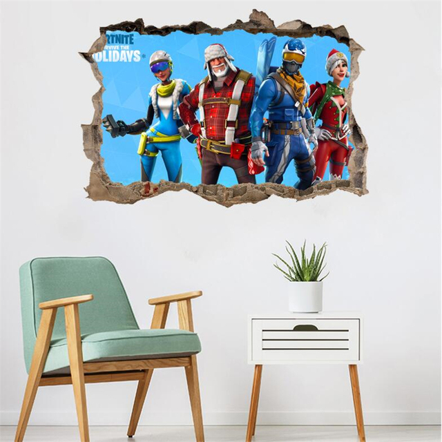 Shootout Game 3D Wall Stickers 6