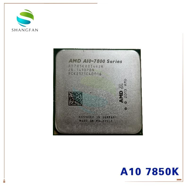 AMD  A10 7800 Series A10-7850K A10 7850 A10 7850K 3.7 GHz Quad-Core CPU Processor AD785KXBI44JA Socket FM2+