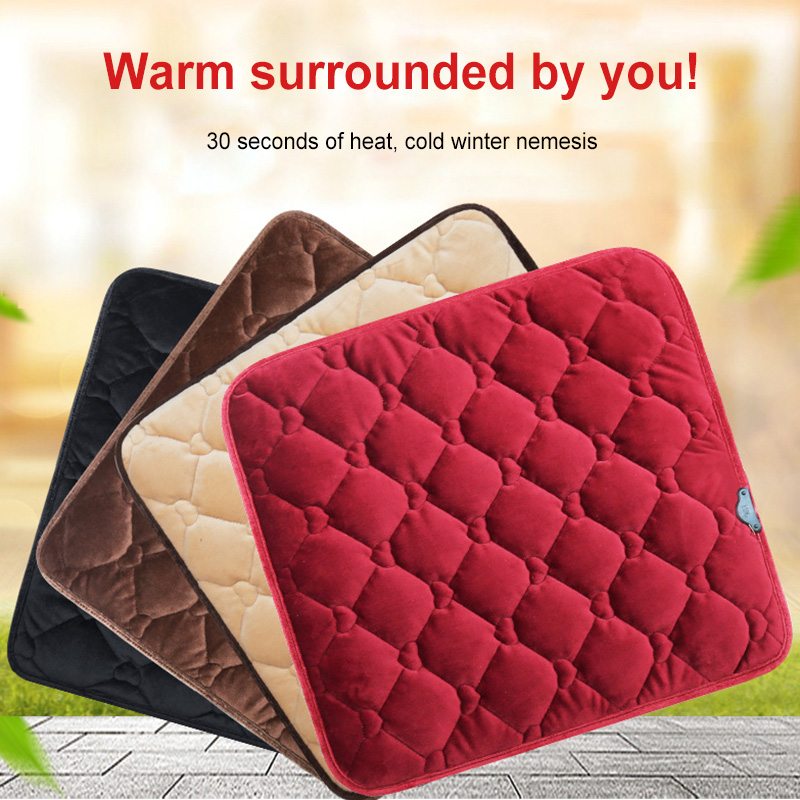 USB Heating Pad Cushion Heating Cushion Low Pressure Heating Pad Winter Heating Blanket Electric Blanket