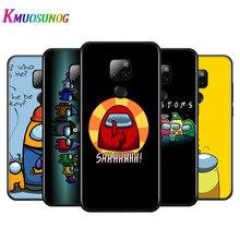 Среди нас для Huawei Y9A Y8P 2020 Y8S Y7A Y9 Y7P Y5P Y9 Y7 Y6 Y5 Prime Pro 2019 2018 2017 черный чехол для телефона
