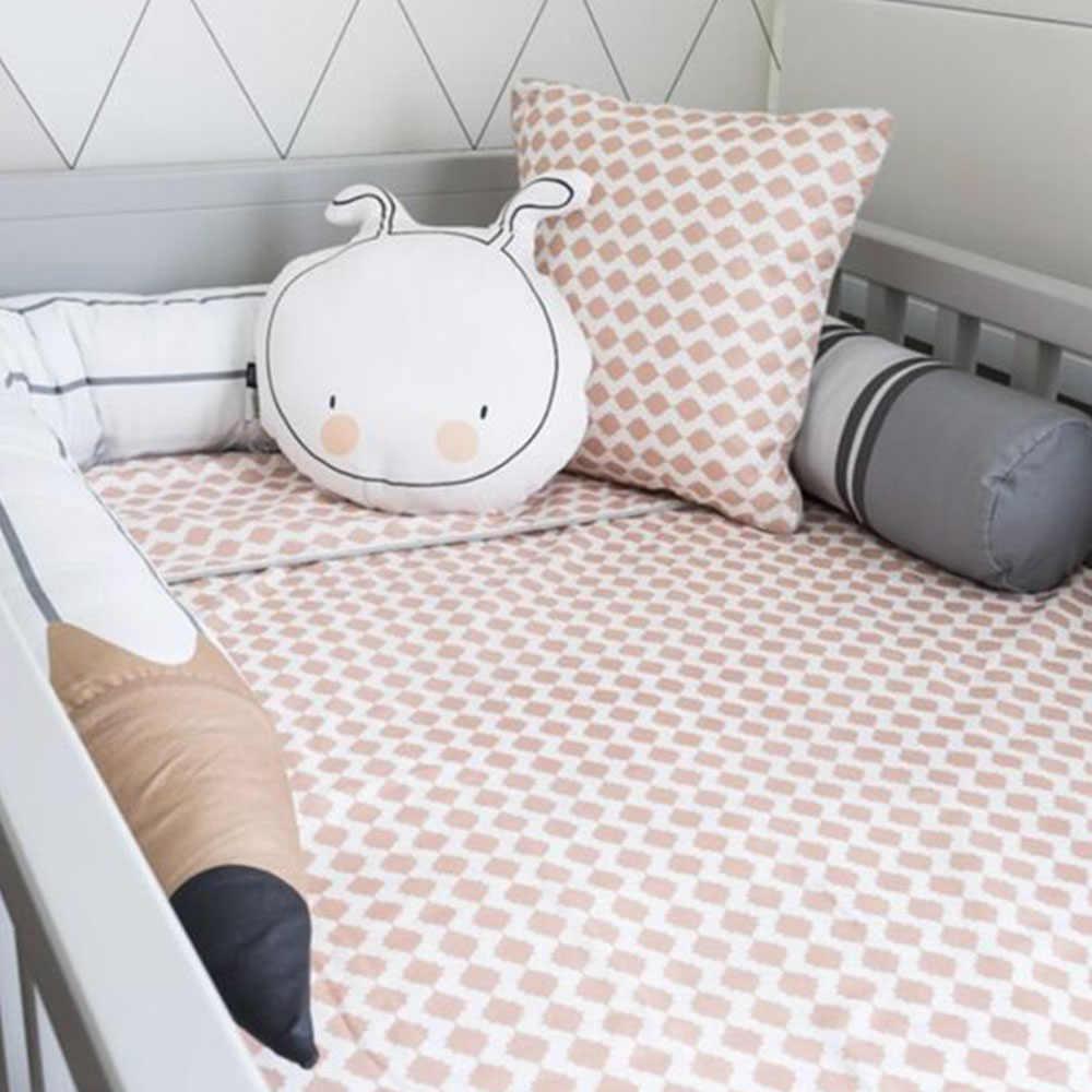 Bébé lit oreiller pare-chocs coffre-fort lit protecteur clôture pour bébés nouveau-né berceau oreiller pare-chocs sommeil clôture infantile chambre décoration HM0044