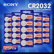 Pile bouton 3V CR2032 2032, 25 pièces, haute capacité, pile au Lithium, pour jouets, montre à distance, KL2032 5004LC