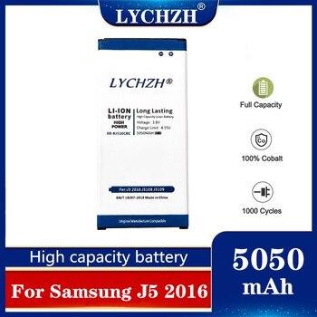 For Samsung Original Battery EB-BJ510CBC Galaxy J5 2016 Edition J510 J510FN J510F J510G EB-BJ510CBE 5050mAh
