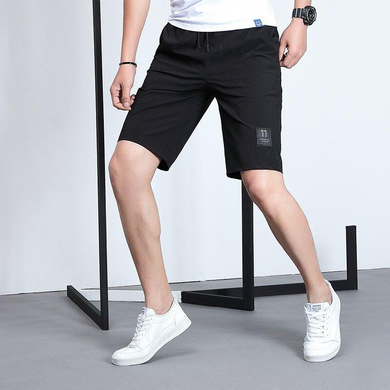 Mens Summer Sports Running Pants Casual Beach Sport Jogging Drawstring sweatpants Fitness Bodybuilding Shorts