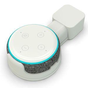 Image 2 - Küche Bad Schlafzimmer Outlet Wand Halterung Ständer Halter Halterung Für Amazon Echo Dot 3rd Generation