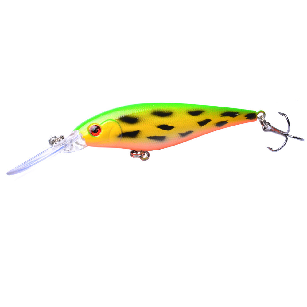 NEW 11cm 10 5g Hard Bait Minnow Streak Fishing Lures Bass Fresh Water Hook Diving Perch Wobbler Fishing bait 1PCS in Fishing Lures from Sports Entertainment