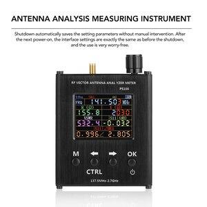 Image 3 - Ps100 137.5 mhz analisador de antena de 2.7 ghz medidor de onda permanente testador de antena rf analisador de impedância de vetor