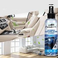 Agente de limpieza Interior de coche, limpiador de techo, tela tejida de franela de cuero, sin agua, herramienta de limpieza para salpicadero de techo