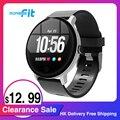 [Распродажа] 2020 Morefit для мужчин для женщин Смарт-часы V11 HD сенсорный Экран IP68 Водонепроницаемый монитор сердечного ритма во время сна фитнес-...