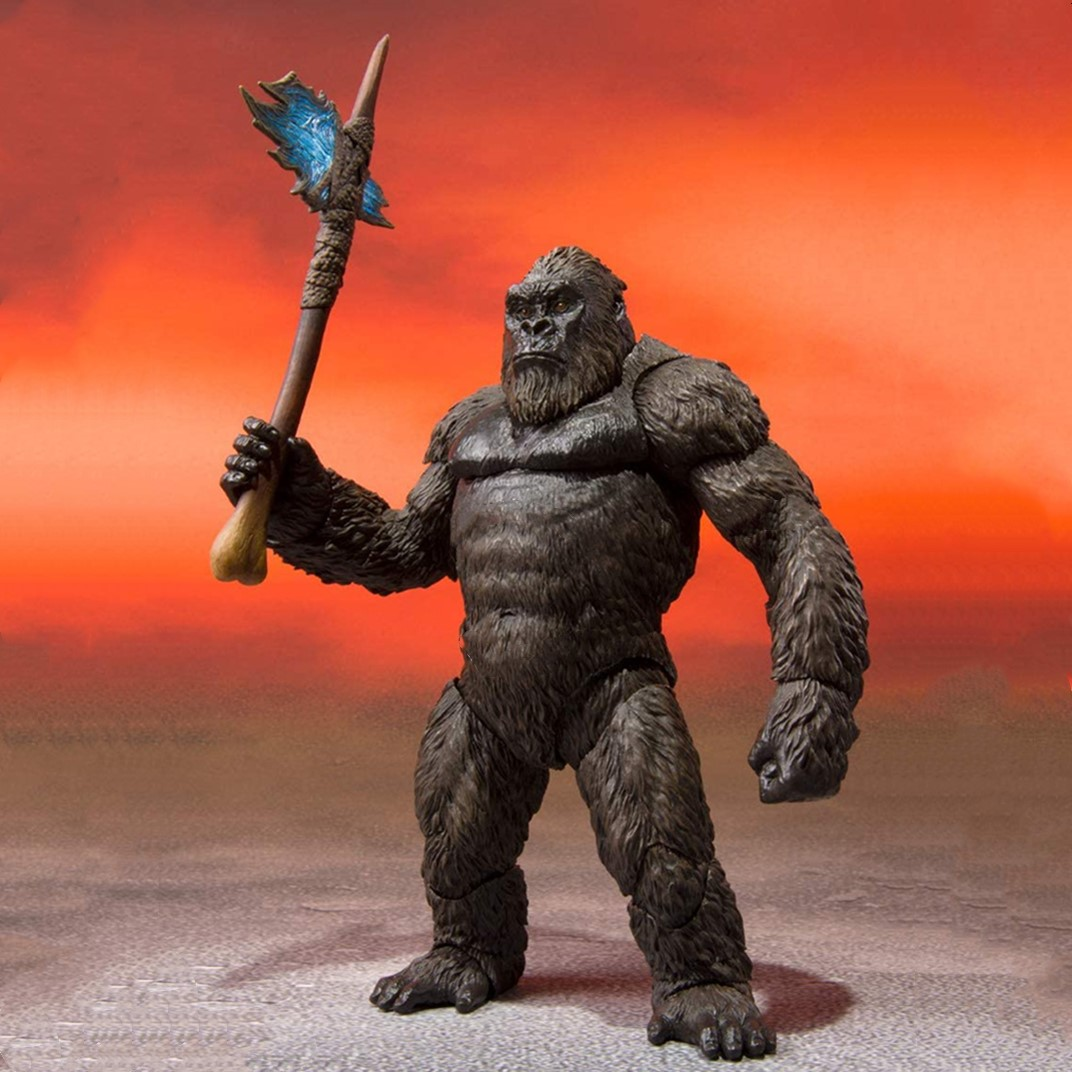 Movie King Kong Action Figure Toys Figurine Kingkong Figure Collection Action Figure Model Toy Gift