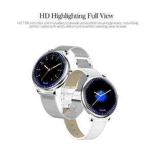 Image 4 - CYUC NY12 Round Screen fashional Stylish Smart Watch Heart Rate Monitor Smartwatch For Girl Compatible For Android and IOS