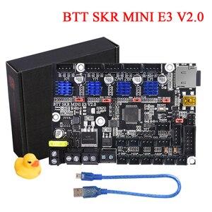 BIGTREETECH SKR MINI E3 V2.0 3D Printer Board+TMC2209 UART Driver 3D Printer Parts VS SKR V1.3/V1.4 Turbo For Ender 3/5 PRO CR10