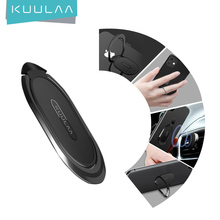 KUULAA Finger Ring Holder Mini Phone Ring for iPhone Mobile Phone Stand Portable Metal Ring Holder Support Magnetic Phone Stand
