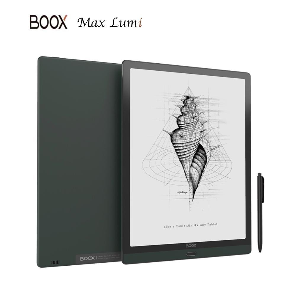 BOOX MAX Lumi MAX4 13.3 Cal z systemem Android 10 E-ink 64GB/256G E Ink Tablet 2200x1650 typ OTG-C E Ink notatnik najnowszy Model E czytnik kart