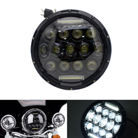 7 Inch Led Motorcycle Headlight Beam Light Projector Lamp Safety Dustproof Round Bright Anti explosion Durable For Jeep