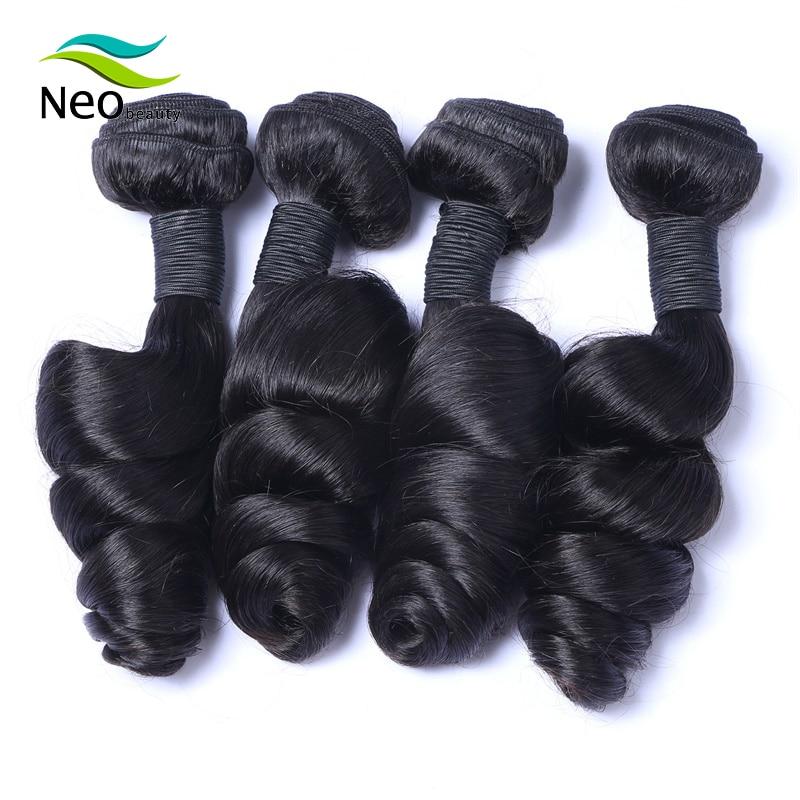 10A  Burmese Loose Wave Bundles 100% virgin Hair Extensions Natural Black 1/3/4 Bundles Deal Human Hair Weave Bundles Weft