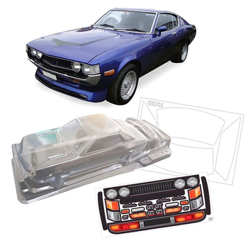 Team C Toyota 1600GT Toys Model PC Clear Body Shell Fit For 1/10 Rc Drift Car TAMIYA HPI HSP YOKOMO Flat Sport On-Road Cars image