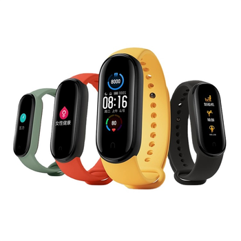 Xiaomi Mi Band 5 Orignal Global Version Smart Watch Bracelet 4 Color AMOLED Screen Miband 5 No NFC Version english version original xiaomi huami amoled screen heart rate monitor built in nfc smart watch amazfit verge 3
