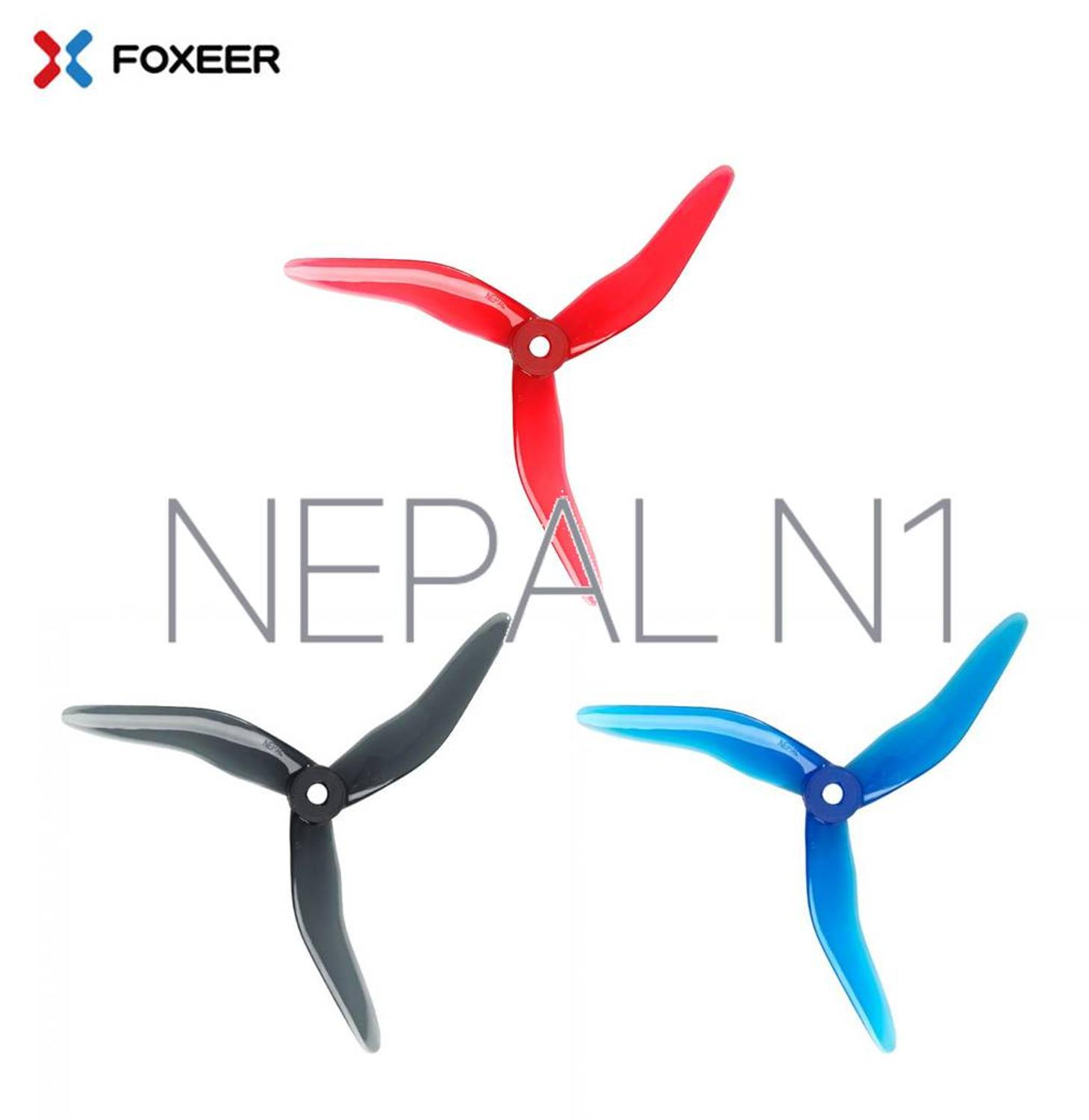4pcs/2pairs DALPROP NEPAL N1 Propeller Freestyle Sweepback Prop No Prop Wash Brushless Motor For FPV Racing Drone