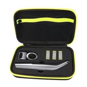 Image 3 - Besegad estojo de viagem, eva, organizador, aparador de barbeador elétrico, bolsa de armazenamento para philips oneblade pro qp 150 6520 6510