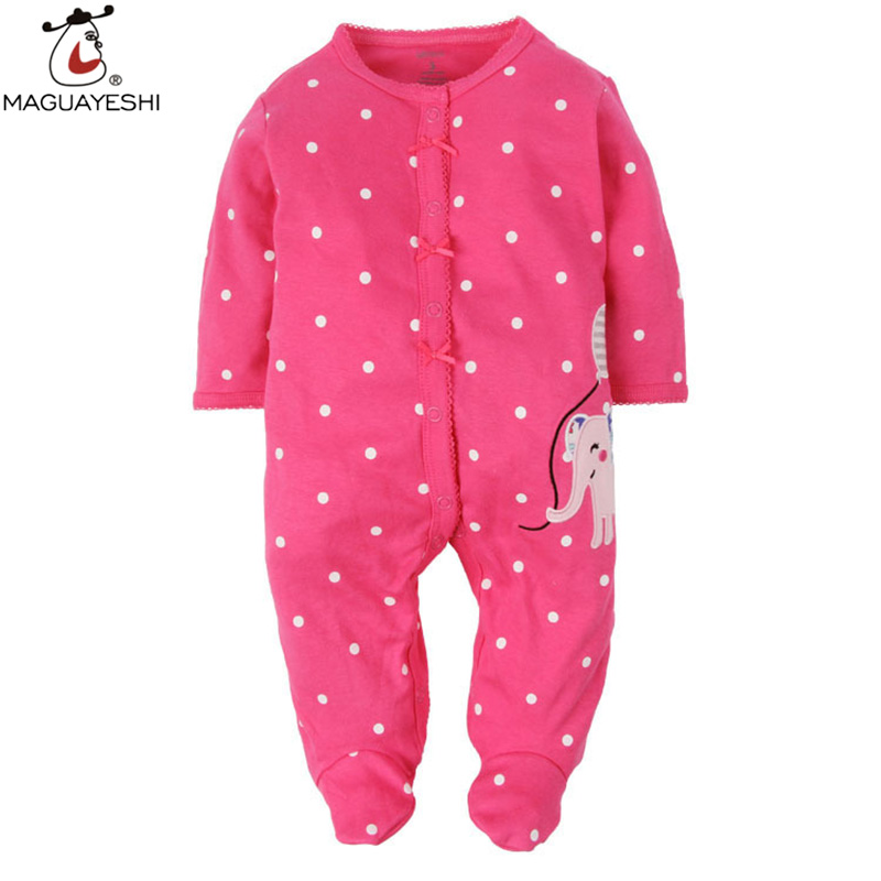 Clearance Sale Baby Boy Rompers Spring Autumn Cotton Full Sleeve Overalls Beard Bow Clothes Newborn Infant Jumpsuits 2 Colors