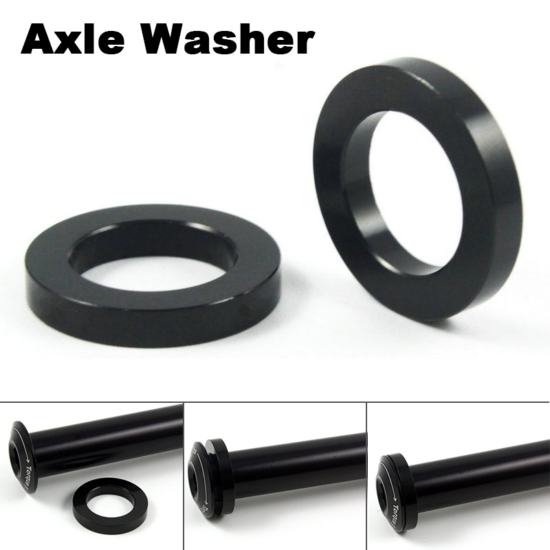 Bicycle Thru Axle Washer M12x3mm Axle Washers M12 Flat Washer Hubs Tube Shaft Skewers Washers Bicycle Accessories
